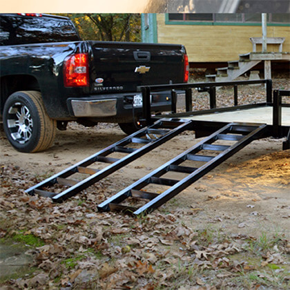 5' Square Tubing ATV Ramp Sides