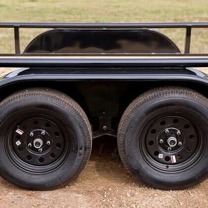 "15"" Radial Tires on Black Mod Wheels"