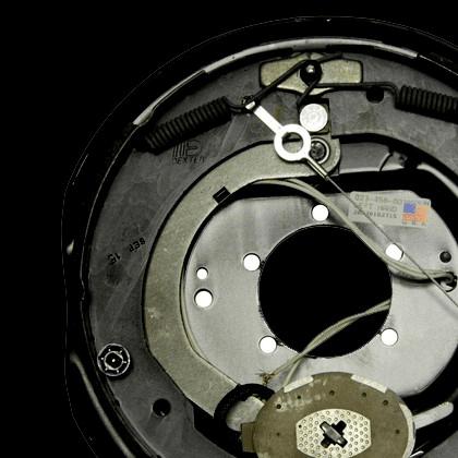 Nev-R-Adjust Electric Brakes on All Hubs
